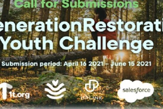 GenerationRestoration Youth Challenge 2021: (Deadline 15 June 2021)