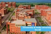 Scholarship at Amity University in the UK: (Deadline 30 June 2021)