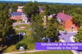 Scholarship at St.Augustine's University in the USA: (Deadline 31 August 2021)