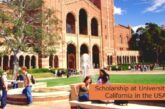 Scholarship at University of California in the USA: (Deadline 15 November 2021)