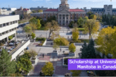 Scholarship at University of Manitoba in Canada: (Deadline 1 October 2021)