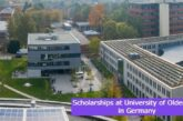 Scholarships at University of Oldenburg in Germany: (Deadline 31May 2021)