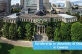 Scholarship at University of Ottawa in Canada: (Deadline 1 June 2021)