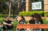 Scholarship at University of South Florida in the USA: (Deadline 1 July 2021)