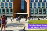 Scholarship at University of Sussex in the UK: (Deadline 1 August 2021)