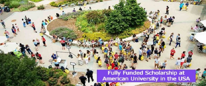Fully Funded Scholarship at American University in the USA: (Deadline 31 July 2021)