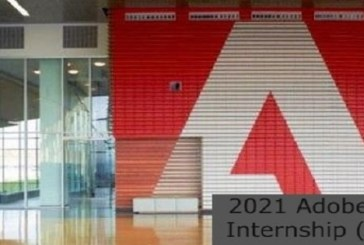 Adobe 2021 Research Internship (Remotely): (Deadline31 July 2021)