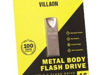 VILLAON 16GB USB 2.0 Flash high-speed Transfer     Real Capacity     Portable Design     Wide Compatibility