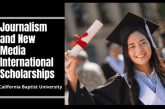 California Baptist University 2021 US Journalism and New Media Scholarships for International Students