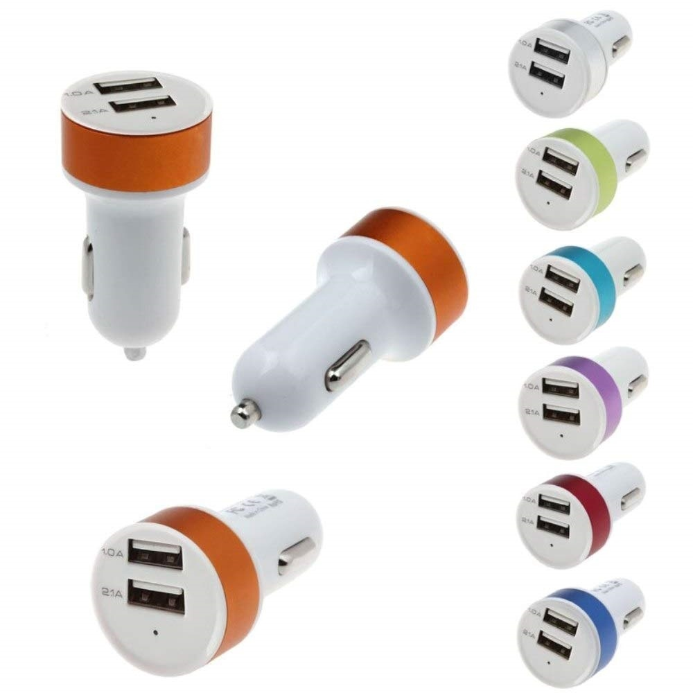 2.1A Dual USB car charger ,Price: 5000 frw ,Free Delivery