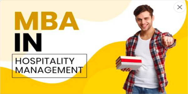 MBA in Hospitality Management || European MBA Degree: (DeadlineOngoing)