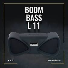 Booms Bass L11 Wireless Bluetooth Speaker - Black, Price :15000 frw ,Free delivery