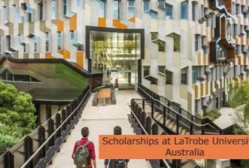 Scholarships at La Trobe University in Australia: (Deadline Ongoing)