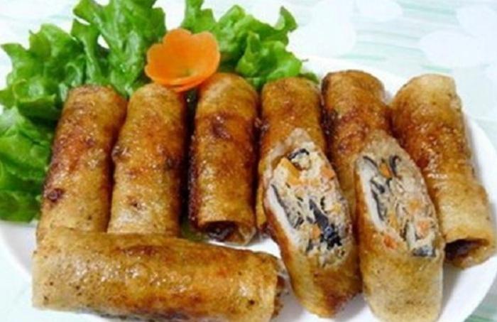 Chả nem chay. món ngon của người Việt   MUC Women
