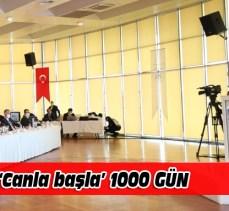 Bursa için 'canla başla' 1000 gün