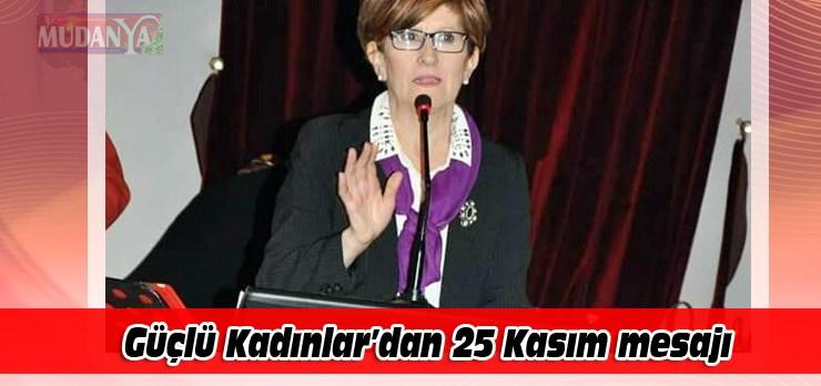 """Güçlü Kadınlar'dan """"İstanbul Sözleşmesi Yaşatır"""" vurgusu"""
