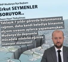 MHP'lilerden deprem uyarısı!