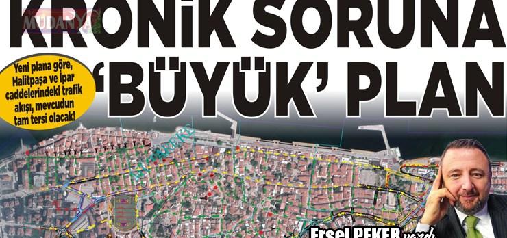 Mudanya'nın kronik sorununa 'Büyük' plan!