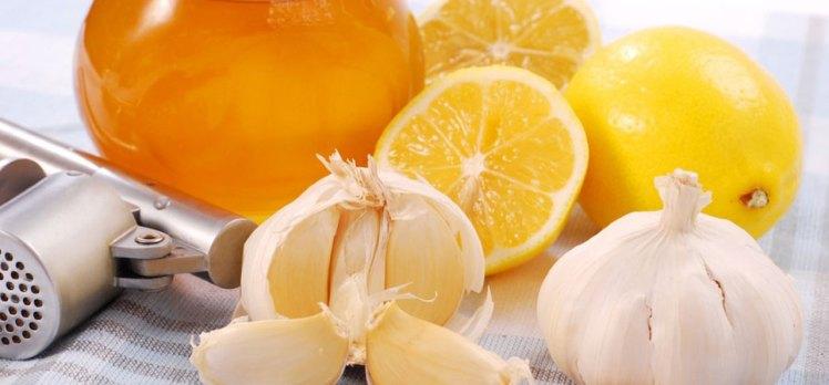 Yüksek tansiyona karşı limon ve sarımsak