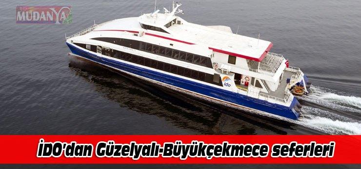 İDO, Bursa Güzelyalı-İstanbul Büyükçekmece seferlerine başlıyor