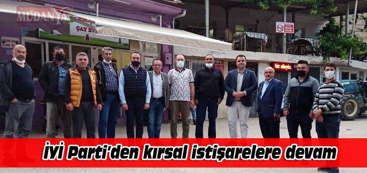 İYİ Parti Mudanya'dan kırsal ziyaretlere devam