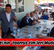 İYİ Parti Bursa'nın 'taarruz timleri' sahada