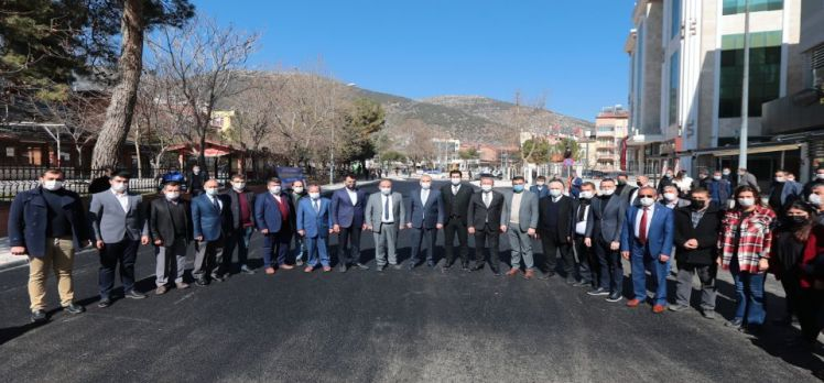 Denizli Serinhisar'ın çehresi Büyükşehir'le değişiyor