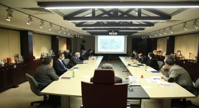 Kayseri Büyükşehir'den ulaşım toplantısı