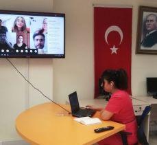 Sivas MYO öğrencilerine çevrimiçi iş kulübü eğitimi
