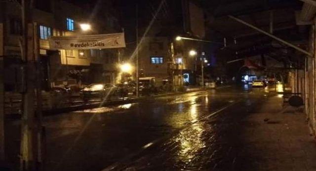Kilis'e beklenen yağmur nihayet geldi