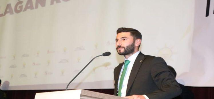 Aksaray'da AK Gençlik Öztürk'e emanet