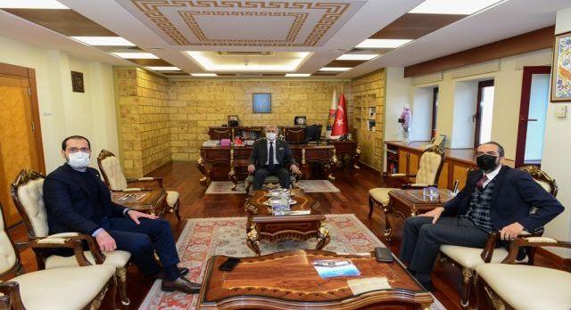 AK Parti milletvekillerinden Rektör Can'a ziyaret