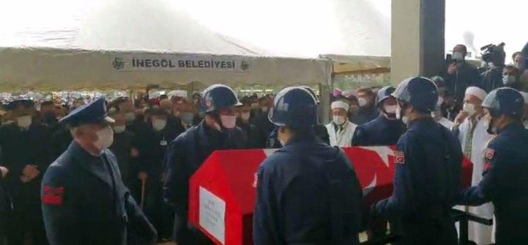 Bursalı Afrin şehidi son yolculuğuna uğurlandı