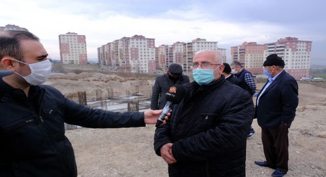 Kahramanmaraş'ta Güneşevler Camine destek