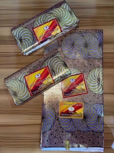 YX Golden Atampa Fabric