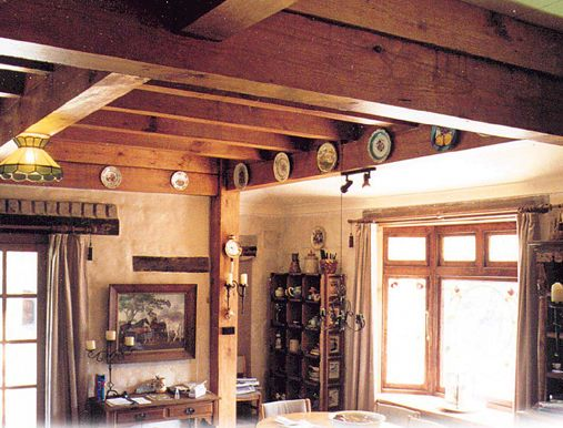 Mudbrick and timberframe home