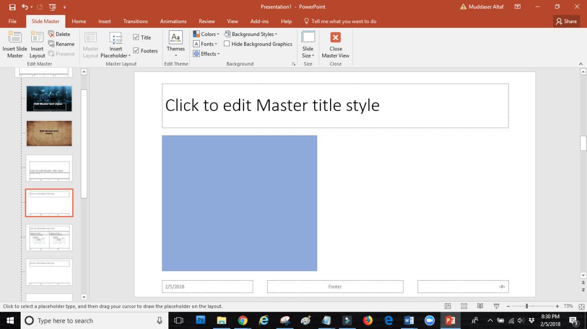 word image 17 - SLIDE MASTER: how touseslide masterin PowerPoint