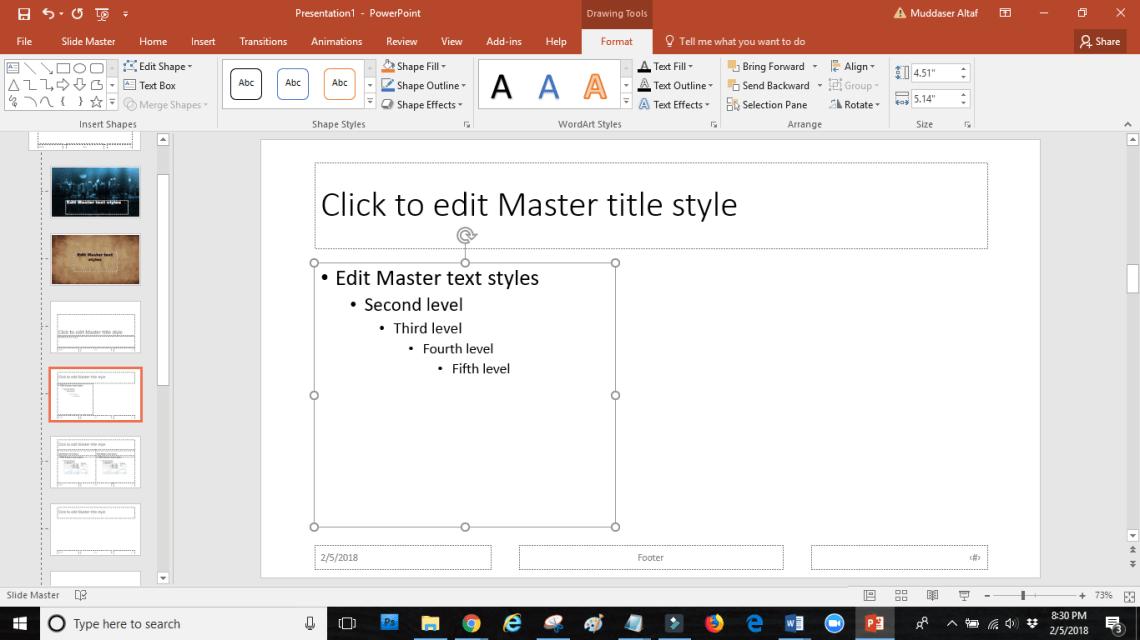 word image 18 - SLIDE MASTER: how touseslide masterin PowerPoint