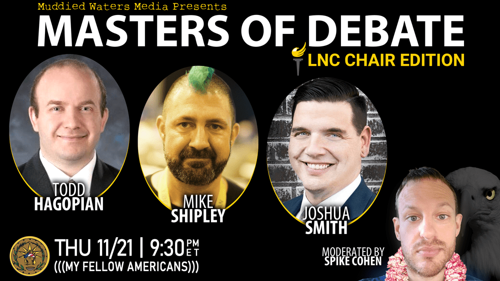 When you play the Game Of Chairs, you either win... ...or you run again in 2 years. We watched an epic battle of wits in our newest installment of Masters Of Debate! HAGOPIAN. SHIPLEY​. SMITH​. Who will emerge the victor? Only you can decide!