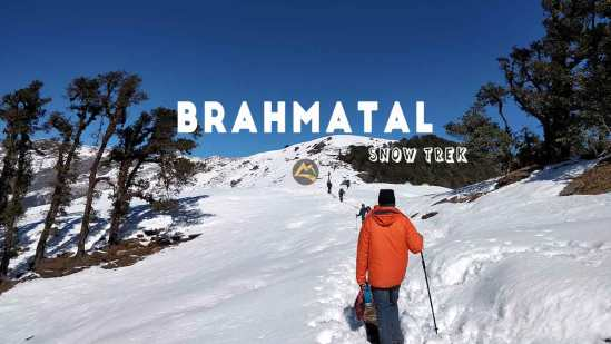 Brahmatal Trek Himalayas Snow Trek Winter Trek Muddie Trails