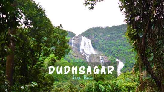 Dudhsagar Jeep Ride from Bangalore Muddie Trails