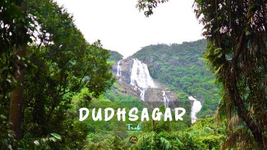 Dudhsagar Trek from Bangalore Hyderabad Muddie Trails