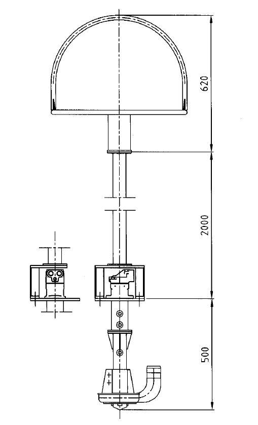 Hydraulversion av muddringspumpen