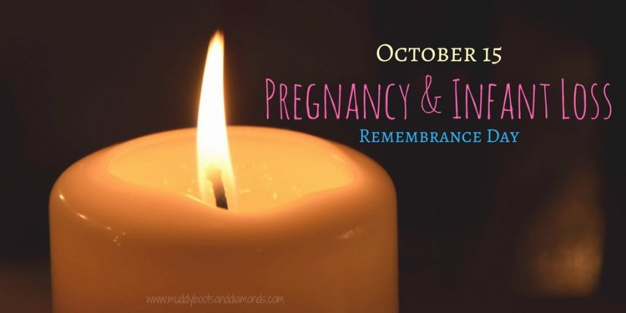 I am 1 in 4: Pregnancy and Infant Loss Remembrance Day via muddybootsanddiamonds.com