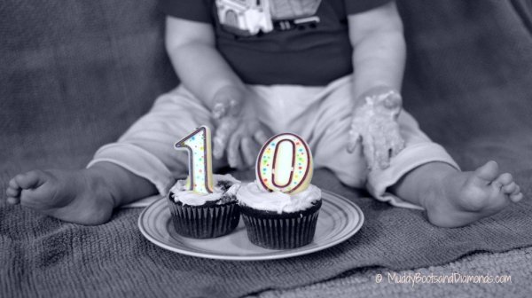 10 month Cupcakes