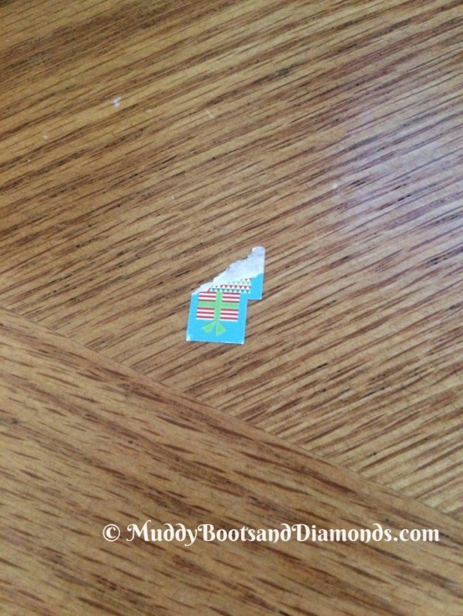 sticker coffee table