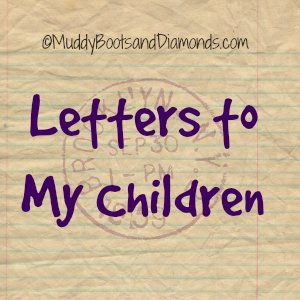 Letters to my children via ©