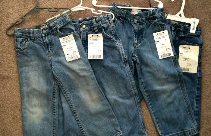 Consignment Sale Jeans