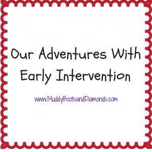 Early Intervention via www.muddybootsanddiamonds.com