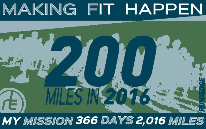 Run the Year 200 miles